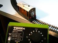 Tomixコントローラで走行テスト