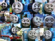 トーマスの顔
