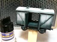 足回りから貨車の塗装