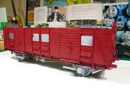 ソドー郵便車の塗装