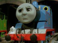 トーマスの見たことない顔