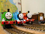 機関車の走行テスト=3=3