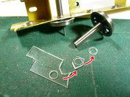 0.4mmプラ板からワッシャを自作