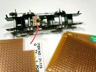 集電用のプリント基板