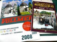 ヴォルマーのカタログと英国保存鉄道の本