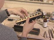 エッチング側板を使った客車の改造