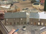 建物組立の最初から塗装まで