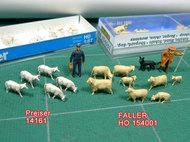 それぞれの羊をアップで