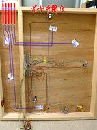 ボード裏のワイヤー計画