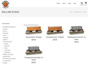 発売中の客車と貨車