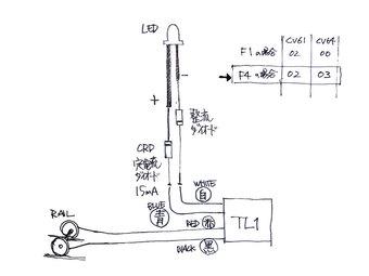 TL-1の配線