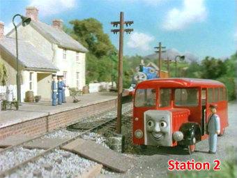 トリレック駅だと思っていた駅